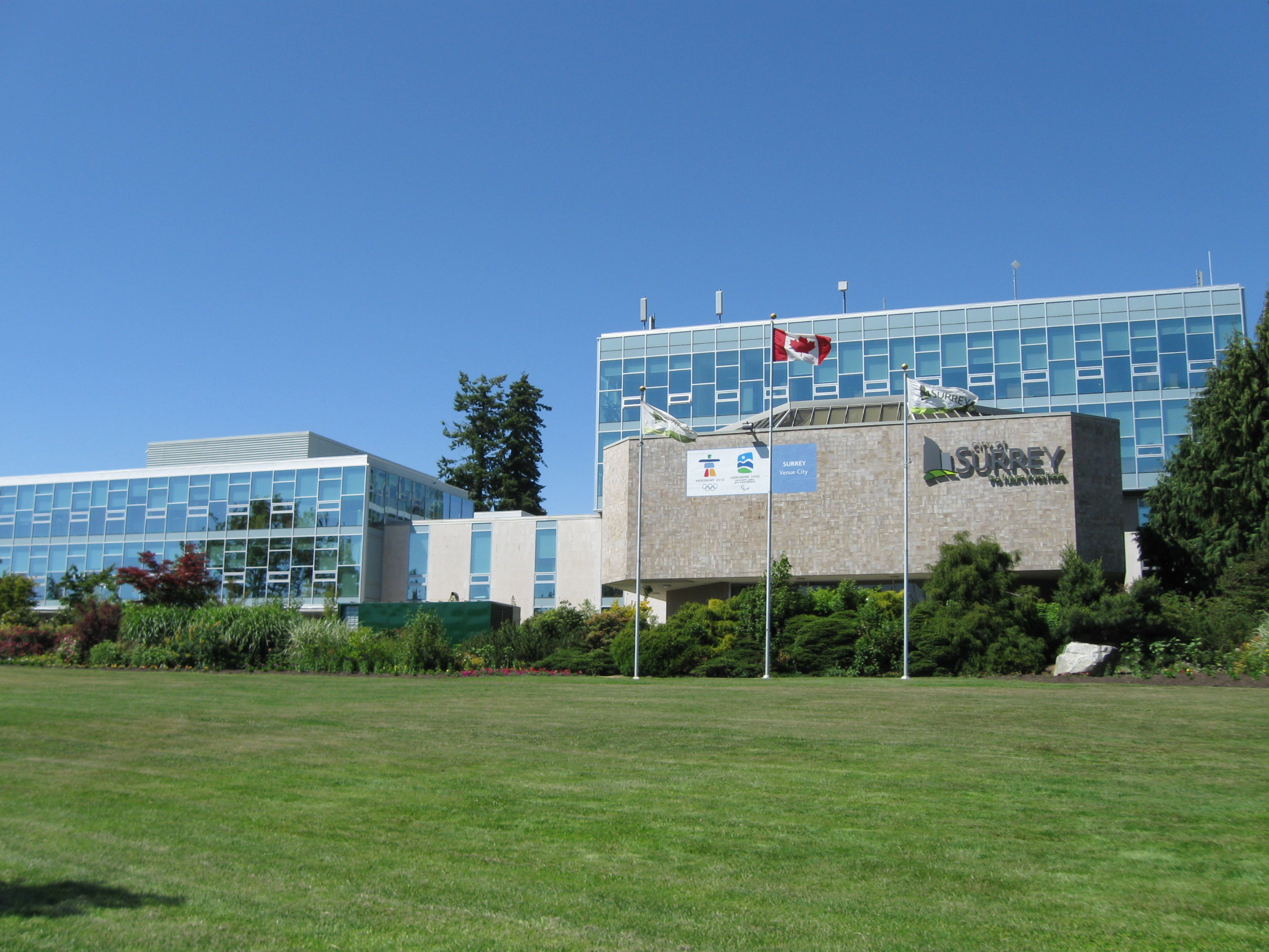 Surrey B.C. City Hall